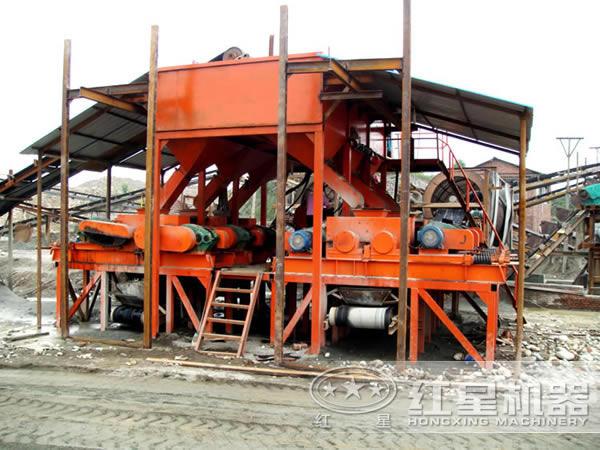 山东青岛石灰石生产线