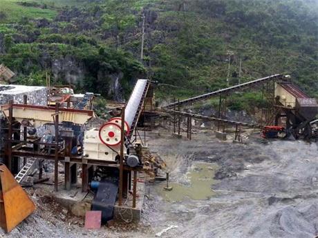 山西朔州石灰石破碎生产案例
