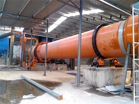 山东脱硫石膏烘干机生产案例