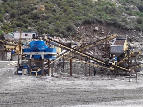 河北张家口鹅卵石制砂生产案例