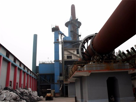 山西太原陶粒砂生产现场