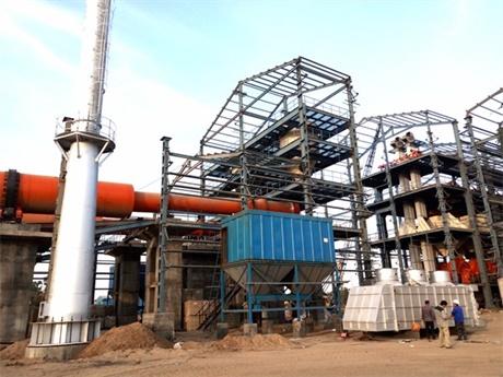 湖南常德新型干法水泥生产线