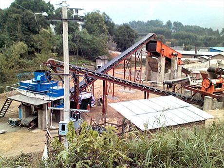 河南洛阳制砂生产线