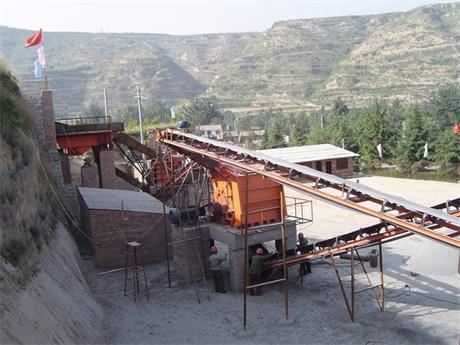 河南洛阳石料生产案例