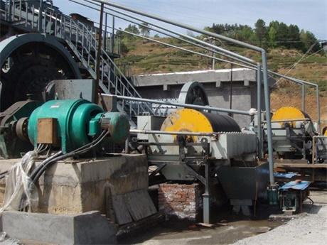河南焦作磁选生产案例